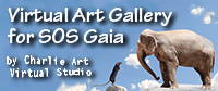 Virtual Art Gallery for SOS Gaia